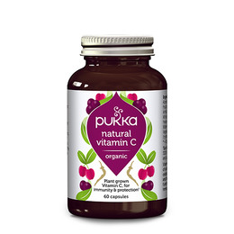 C-vitamin Natural Ø Pukka 60 kap