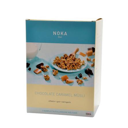 Mysli chokolade karamel Noka diæt Til 7 må 329 g