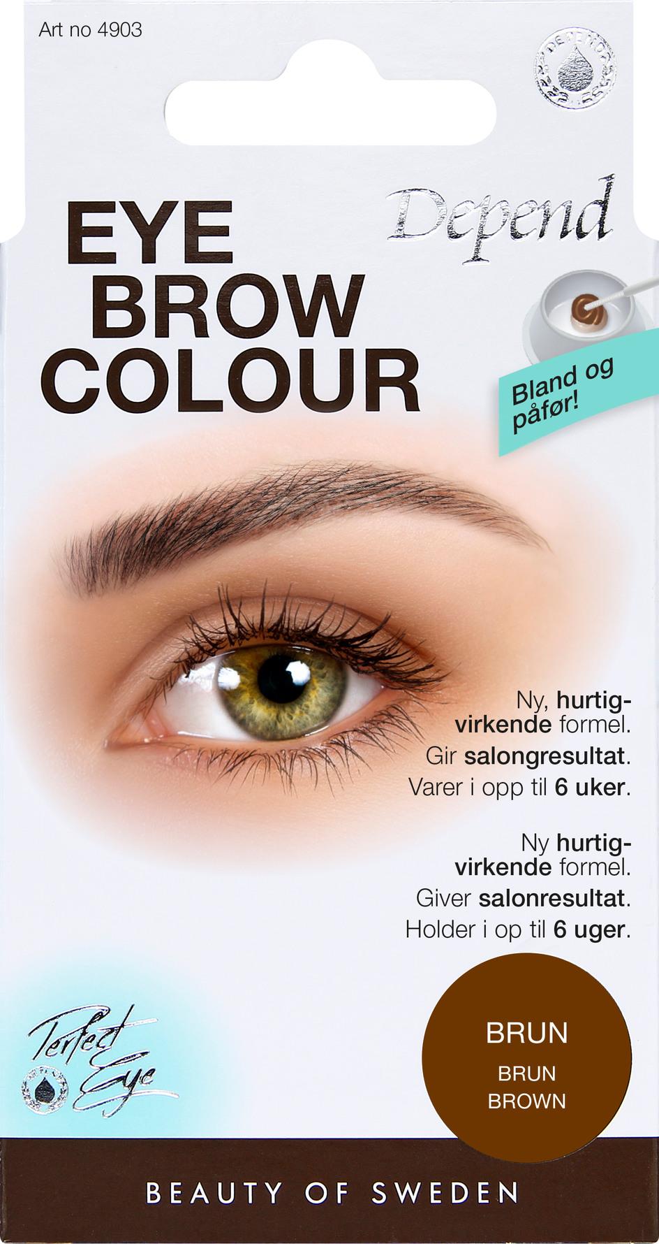 farve til øjenbryn matas