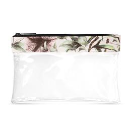 Gillian Jones Check in Bag med Blomster Print