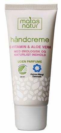 Matas Natur Aloe Vera & E-vitamin Håndcreme 35 ml