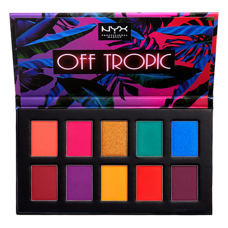 NYX PROFESSIONAL MAKEUP Off Tropic Shadow Palette Hasta La Vista