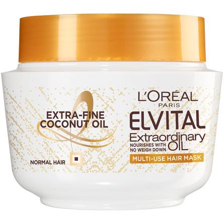 L'Oréal Paris Elvital Extraordinary Oil Extra Fine Coconut Multi-Use Hair Mask 300 ml