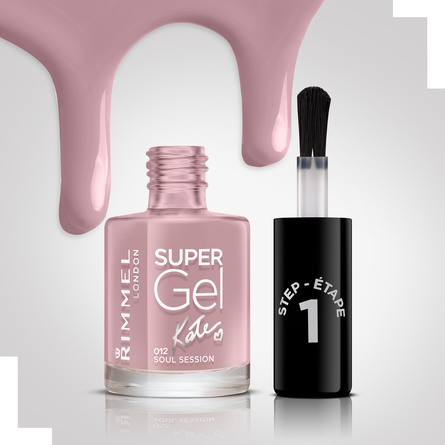 Rimmel Super Gel Neglelak 012 Soul Session