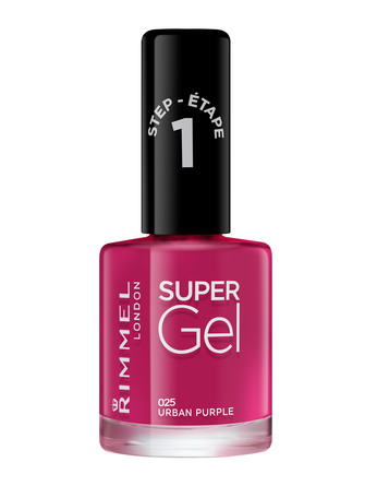 Rimmel Super Gel Neglelak 025 Urban Purple