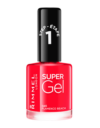Rimmel Super Gel Neglelak 045 Flamenco Beach