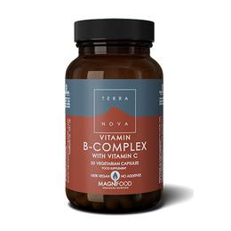 Terra B-complex m vitamin C  50 kaps.