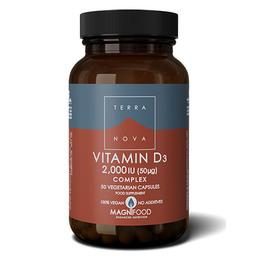 Terra Vitamin D3 2000 IU   50  kaps.