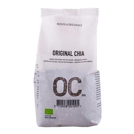 House of Originals Chia Original (chiafrø) Øko 300 gr.