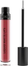 Gosh Copenhagen Liquid Matte Lips Gloss 03 Nougat Fudge