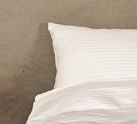 Casa Decor Sengetøj Stripe/White 140 x 200 cm