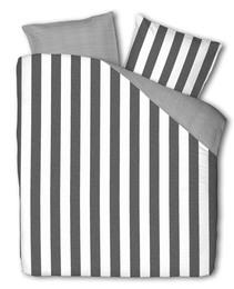 Casa Decor Everline Sengetøj Stripe Grey/Off White 140 x 200 cm