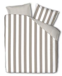 Casa Decor Everline Sengetøj Stripe Clay/Off White 140 x 200 cm