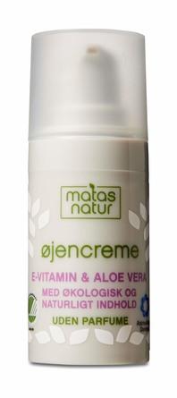 Matas Natur Aloe Vera & E-vitamin Øjencreme 15 ml