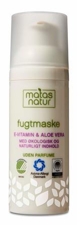 Matas Natur Aloe Vera & E-vitamin Fugtmaske 50 ml