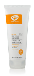 Green People Sun Lotion SPF 15 with Suntan Accelerator 200 ml