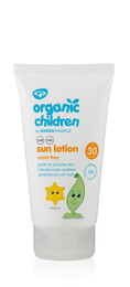 Green People Children's Sun Lotion Scent Free SPF 30 150 ml