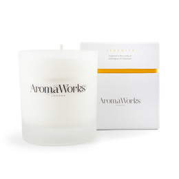 Aroma Works Serenity Candle 9 x 8 cm