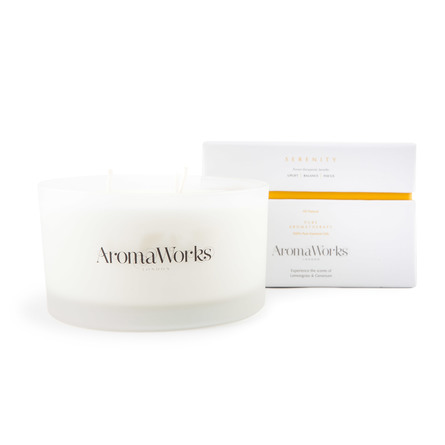 Aroma Works Serenity Candle 7 x 12,5 cm