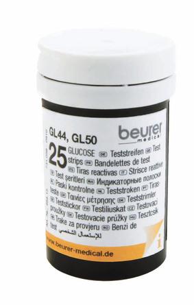 Beurer Teststrimler til GL 44/GL 50 2 x 25 stk.