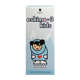 Eskimo-3 med E-vitamin Kids, Appelsinsmag 210 ml
