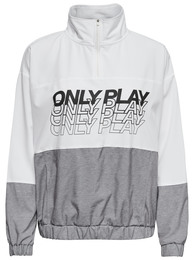 Only Play Sunset Anorak White str. M