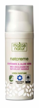 Matas Natur Aloe Vera & E-vitamin Natcreme 50 ml