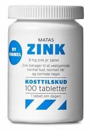 Matas Striber Matas Zink 8 mg 100 tabl.
