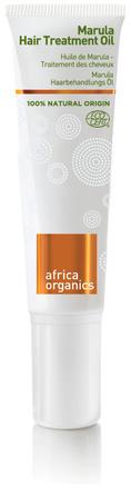 Africa Organics Marula Hårolie til Tørt Hår 50 ml
