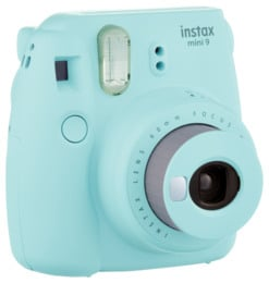 Instax Mini9 Analogt Instant Kamera Ice Blue