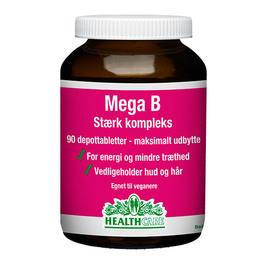 Mega B stærk kompleks HealthCare 90 tab