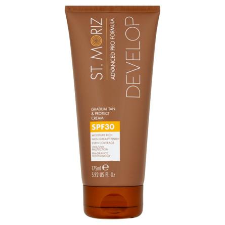 St. Moriz Advanced Pro Formula Gradual Tan & Protect Cream SPF 30 175 ml