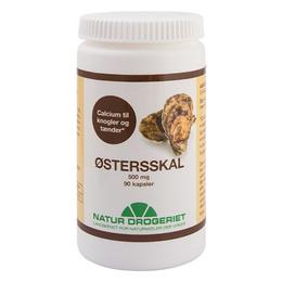 Østersskalskapsler 500 mg 90 kap