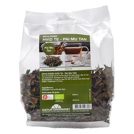 Hvid te (Pai Mu Tan) Ø 50 g