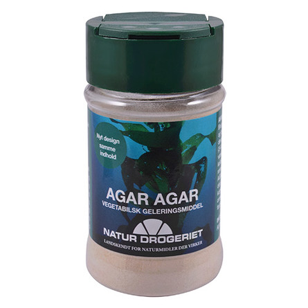 Agar-Agar pulver (tang - stivelse) 50 g