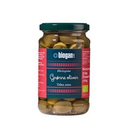 Oliven grønne u. sten Ø 340 g