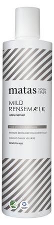 Matas Striber Mild Rensemælk Sensitiv Hud Uden Parfume 500 ml