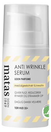 Matas Striber Anti Wrinkle Serum Tør Hud 30 ml
