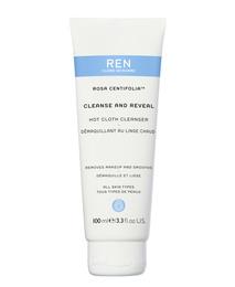 REN Clean Skincare Rose Centifolia Hot Cloth Cleanser 100 ml