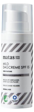 Matas Striber Mild Dagcreme SPF 15 Normal Hud 50 ml