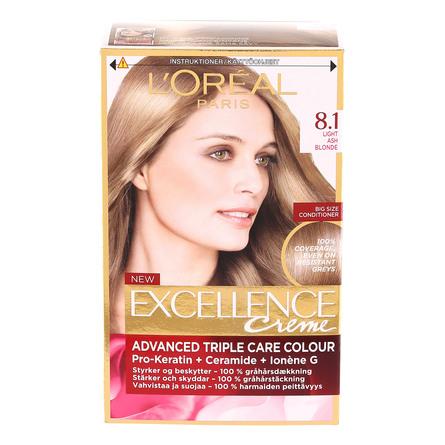L'Oréal Paris Excellence Creme 8.1 Lysblond
