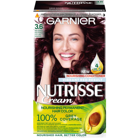Garnier Nutrisse 3.6 Red Dark Brown