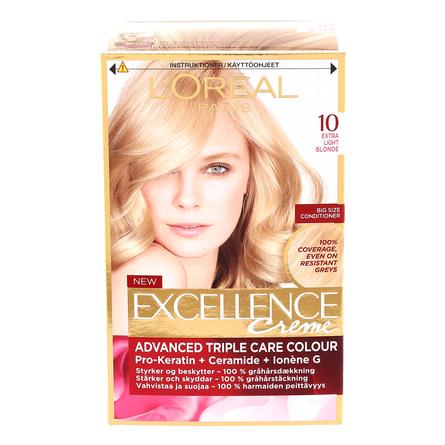 L'Oréal Paris Excellence Creme 10 Ekstra Lysblond