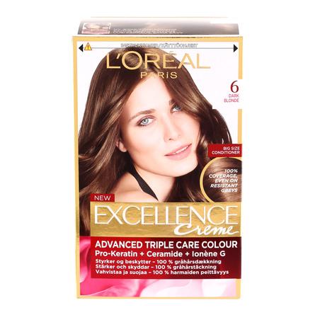 loreal hårfarve mousse