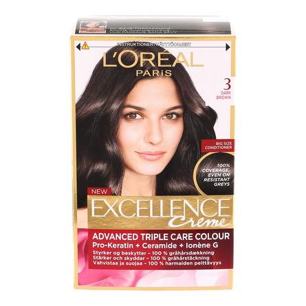 L'Oréal Paris L'Oréal Excellence 3 Mørkebrun