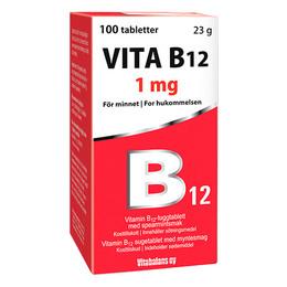 Vitabalans Oy Vita B12   1mg 100 tabl.
