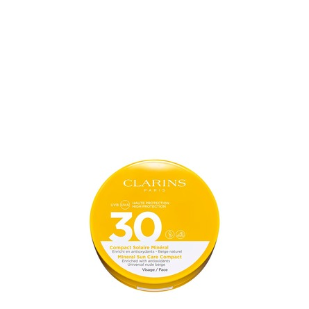 Clarins Sun Face Compact Foundation SPF 30 Universal Beige