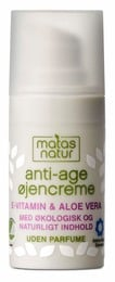 Matas Natur Aloe & E-vitamin Anti-Age Øjencreme 15 ml