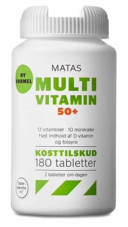 Matas Striber Multivitamin 50+ 180 tabl.