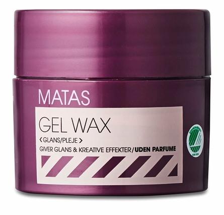 Matas Striber Gel Wax Uden Parfume 75 ml